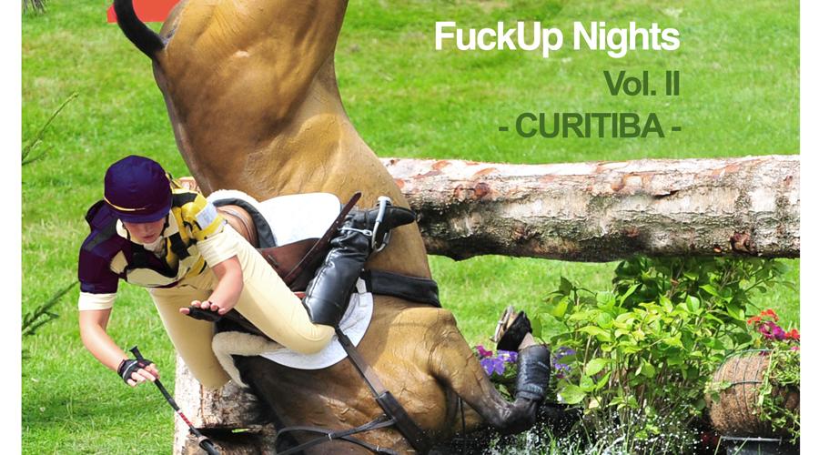 FuckUp Nights Curitiba Vol. II: Compartilhe sua história de fracasso e aprendizado