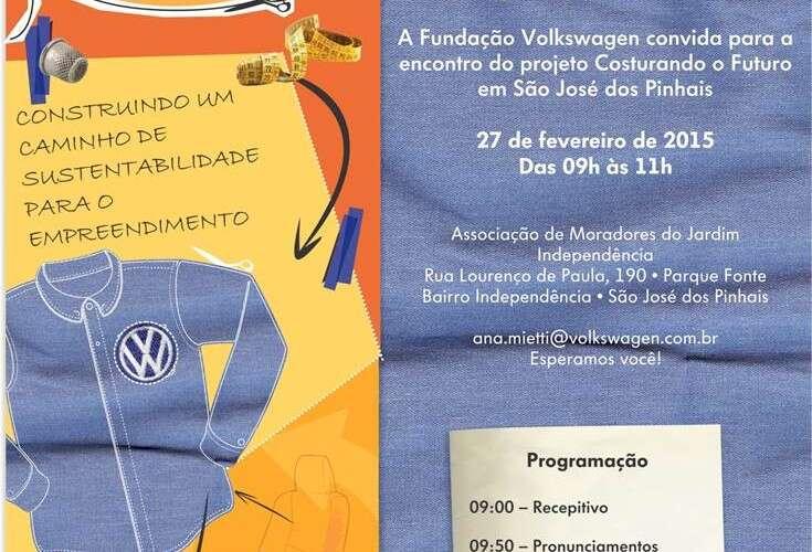Costurando o Futuro: Projeto da Fundação Volkswagen com a Aliança Empreendedora inicia nova fase de incentivo ao empreendedorismo