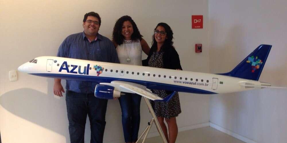 Programa Geração Empreendedora é um dos projetos selecionados em edital social da Azul Linhas Aéreas