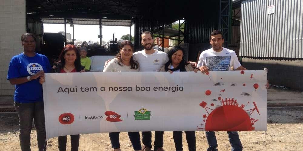 (Português) Aliança Empreendedora e EDP apoiam rede de cooperativas de catadores de materiais recicláveis na região do Vale do Paraíba para que eles passem a comercializar em conjunto e aumentem a renda dos cooperados