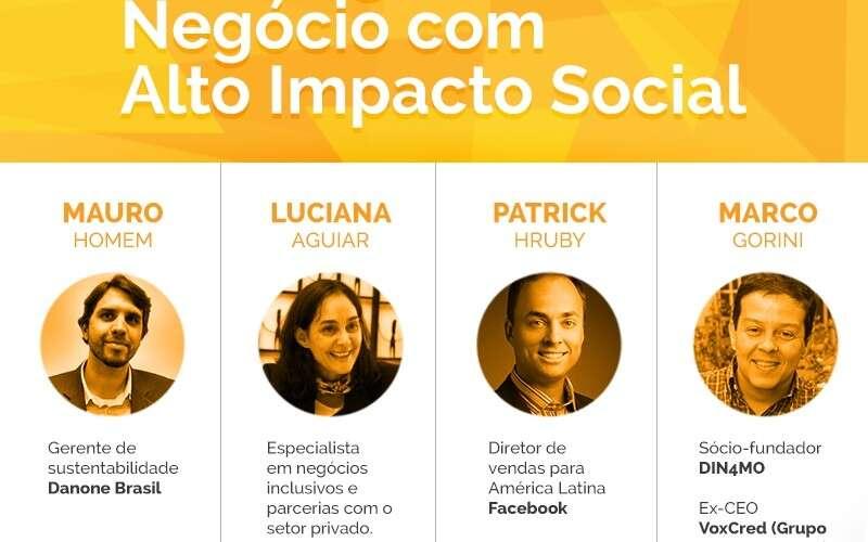 Aliança Empreendedora promove discussão sobre negócios inclusivos no Cubo Network em São Paulo-SP