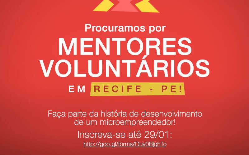 (Português) Quer ter uma experiência incrível e participar da história de desenvolvimento de um microempreendedor? O Programa Parceiros em Ação procura por mentores em Recife-PE!