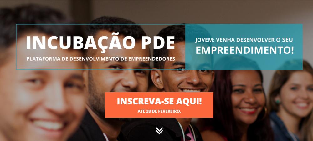 (Português) Jovens empreendedores podem ter suas iniciativas de impacto social e tecnologia digital incubadas