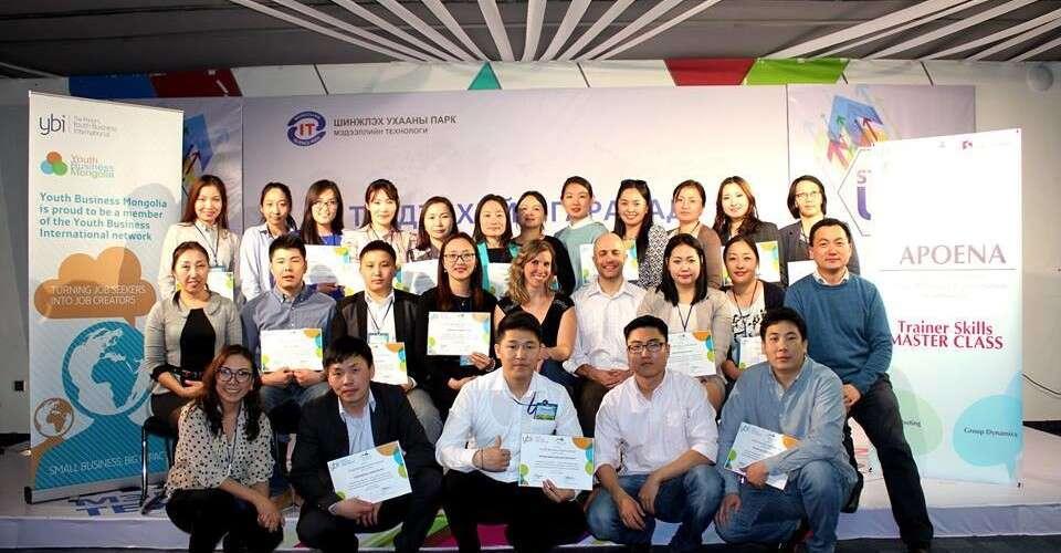 Aliança Empreendendora capacita organizações sociais na Mongólia