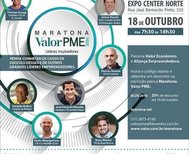 Valor Econômico abre inscrições para evento de empreendedorismo