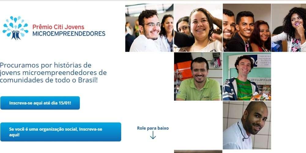 Nova edição do Prêmio Citi foca em jovens microempreendedores e distribui R$ 42 mil em prêmios