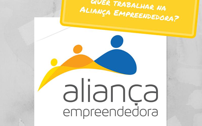 Já pensou fazer parte da história de um empreendedor? A Aliança Empreendedora está com vaga aberta para mobilizador no Rio de Janeiro-RJ!