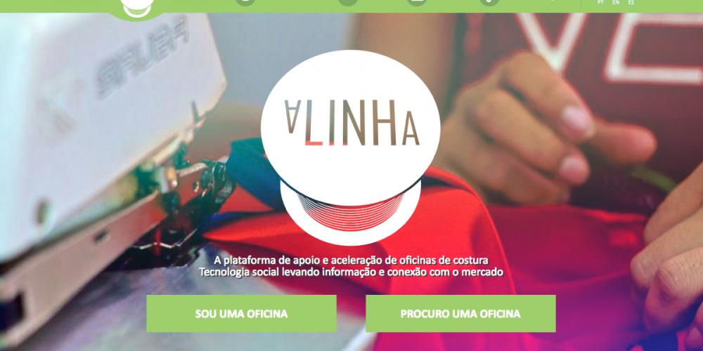 (Português) Conheça a Alinha: plataforma de apoio a donos de oficinas de costura que irá impulsionar microempreendedores do Programa Tecendo Sonhos