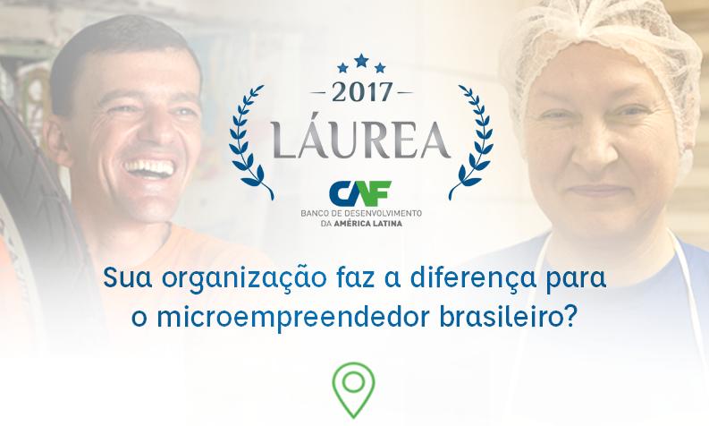 Banco de Desenvolvimento da América Latina CAF e Aliança Empreendedora lançam concurso nacional de reconhecimento das melhores práticas de apoio ao microempreendedor brasileiro