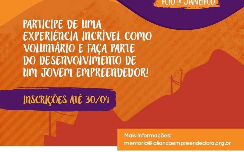 Faça parte da história de um jovem microempreendedor no Rio de Janeiro-RJ e tenha uma experiência incrível de voluntariado