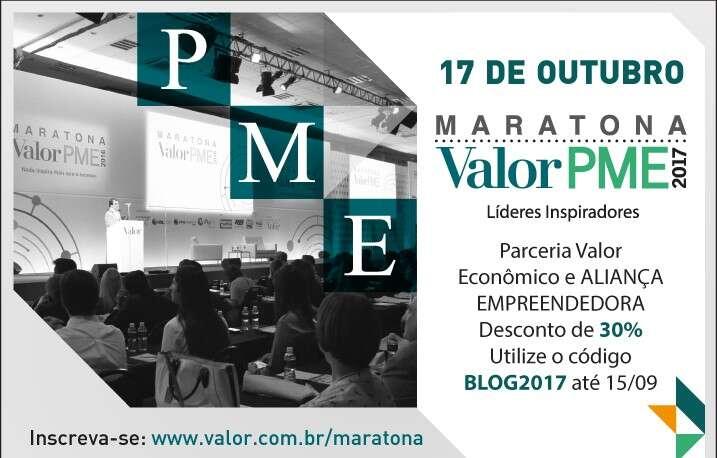 Maratona Valor PME acontece dia 17 de outubro em São Paulo