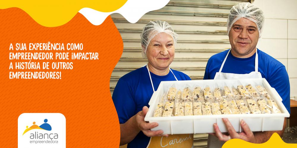 Venha fazer parte da história de um microempreendedor e ainda ter uma experiência incrível de voluntariado com a Aliança Empreendedora