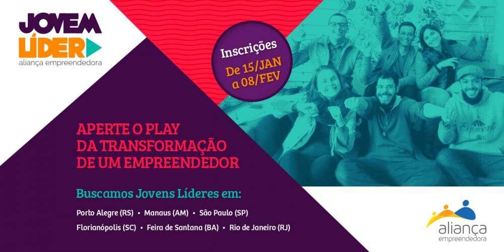 (Português) Programa Jovem Líder da Aliança Empreendedora procura jovens voluntários interessados no apoio ao microempreendedor
