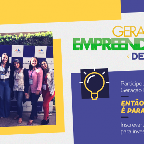 Geração Empreendedora – Desafio Brasil: concurso vai apoiar jovens empreendedores que passaram por capacitações das organizações aliadas do programa