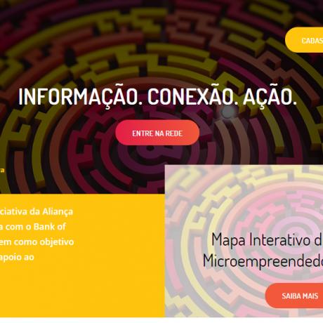 Aliança lança mapa de organizações que apoiam o microempreendedor brasileiro