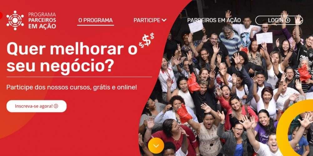 Programa Parceiros em Ação lança site com cursos online e calendário de caravanas itinerantes sobre gestão de negócios
