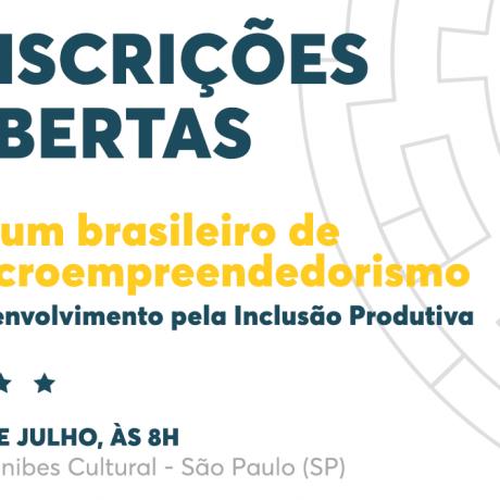 Vem aí a terceira edição do Fórum Brasileiro de Microempreendedorismo 360